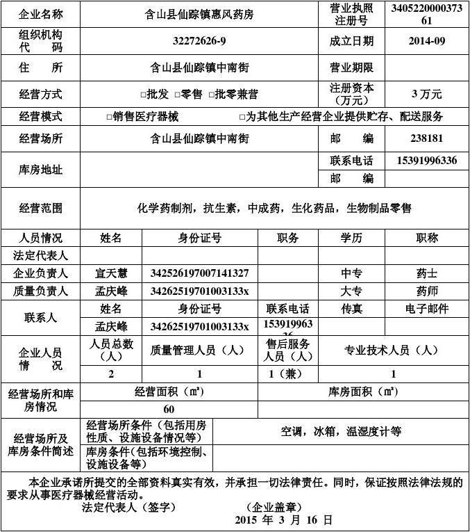 部门发布的医疗器械分类目录中规定的管理类别,分类编码及名称填写.