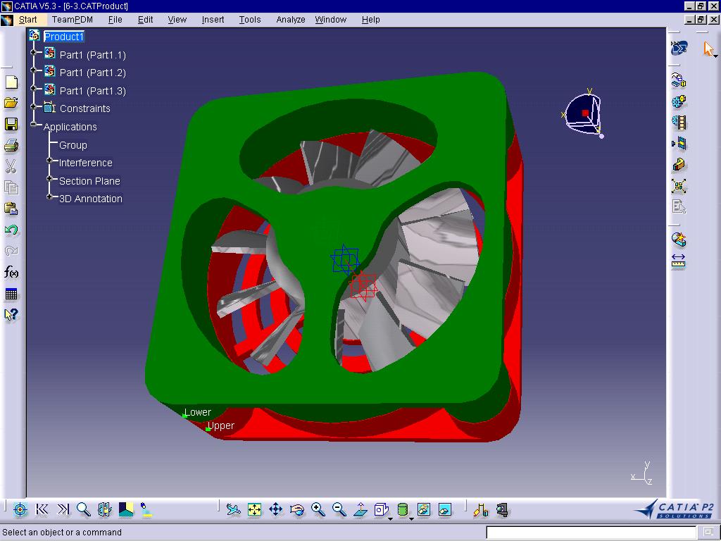 CATIA V5教程——风扇设计之扇叶