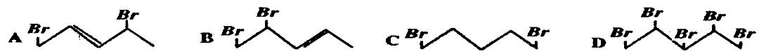 高中化学 第二章 烃和卤代烃 第二章 烃和卤代烃单元测试题 新人教版选修5答案