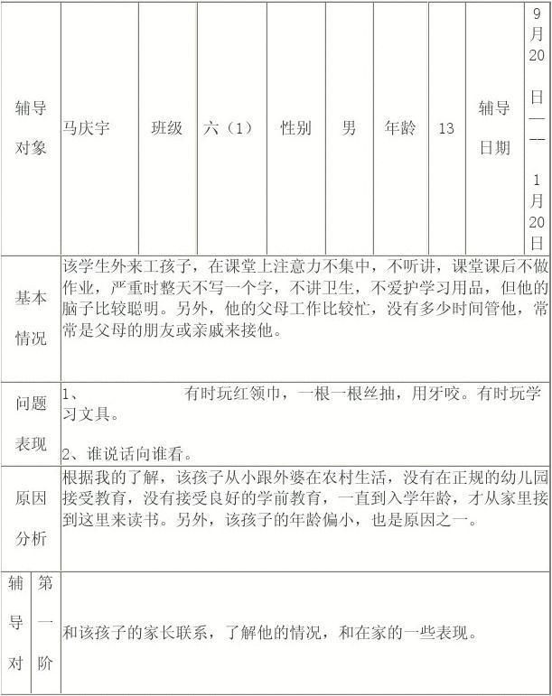【小学生健康教育记录】