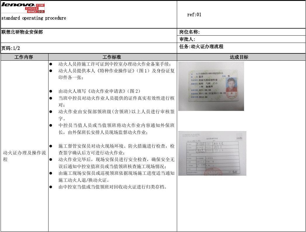 施工员工作情况_动火证办理流程_文档下载
