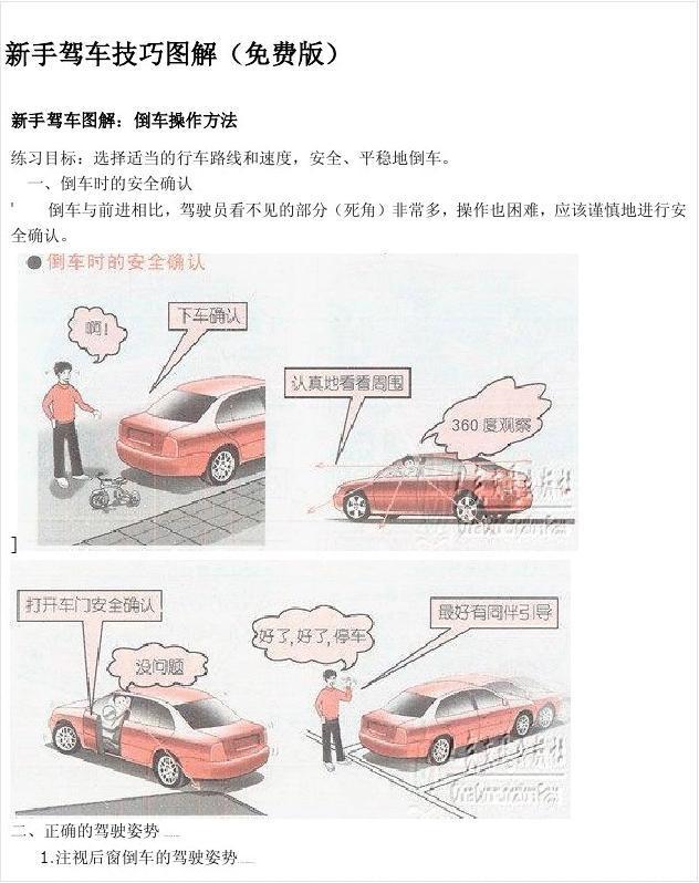 新手驾车技巧图解(免费版)