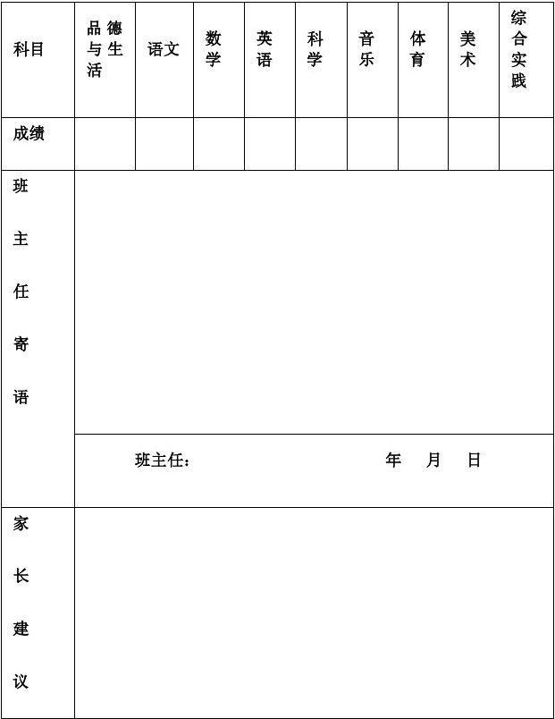 椿树镇朱安学生陶罐素质教育报告单课文铁罐和小学小学图片