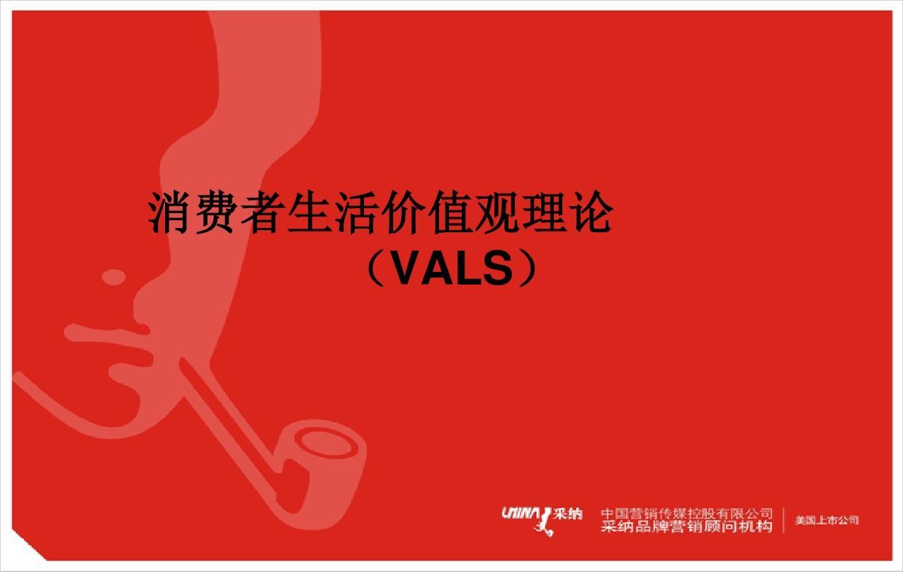 29-花费者生活价值不雅实际(VALS)