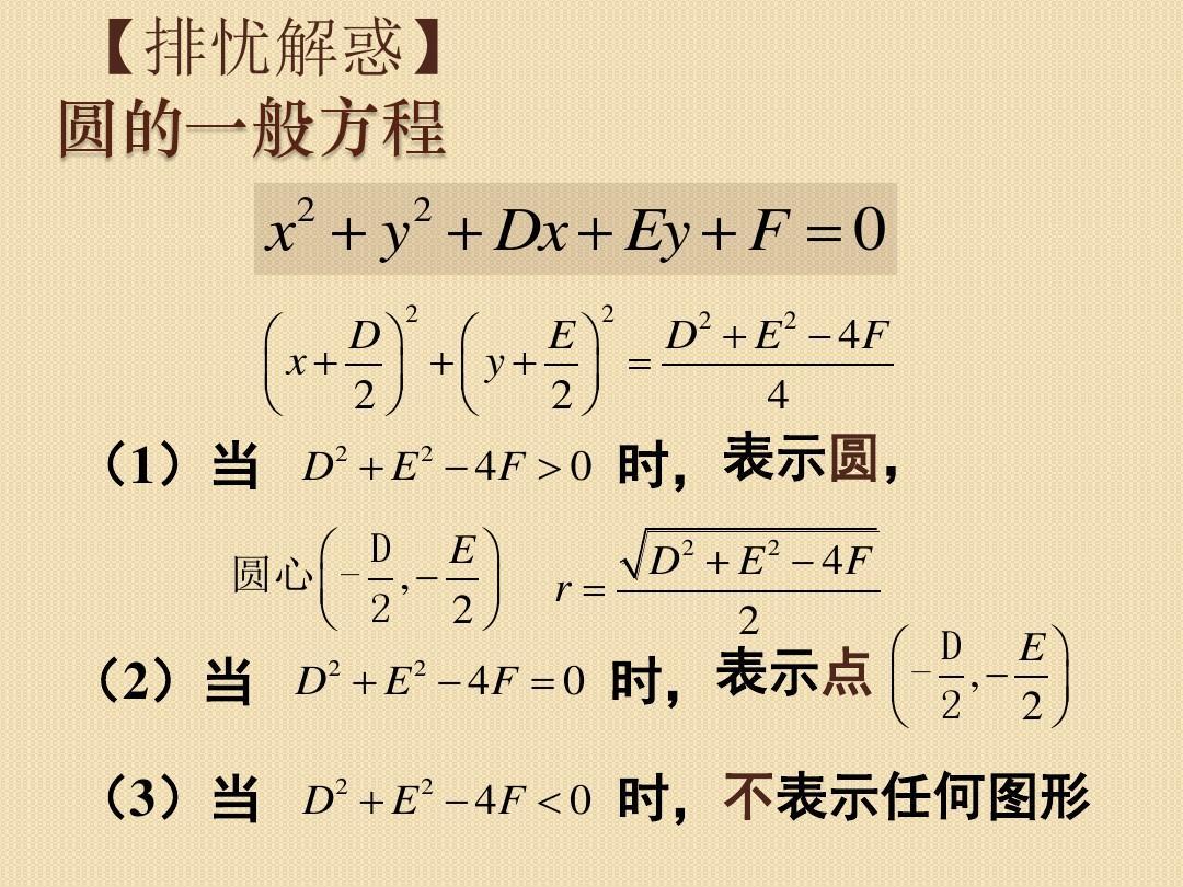 2《圆与方程--圆的一般方程》课件(苏教版必修图片