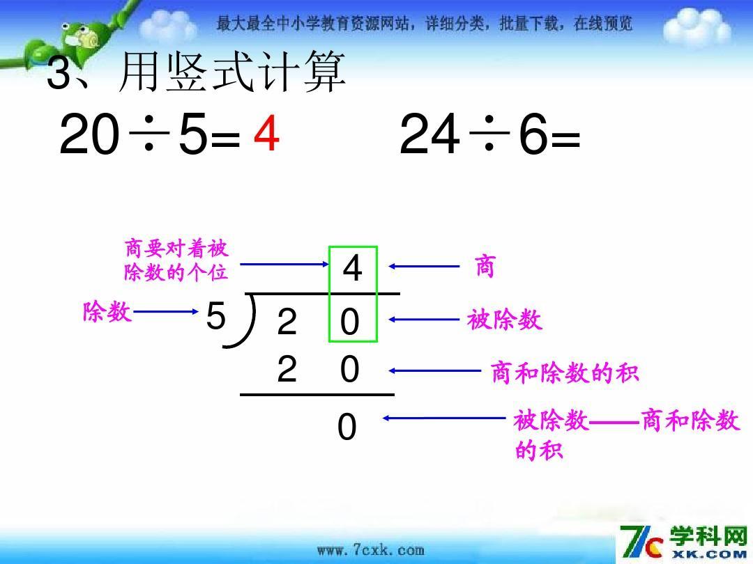 【 最新配套】 苏教版二年级数学下册《有余数的除法竖式和解决问题图片