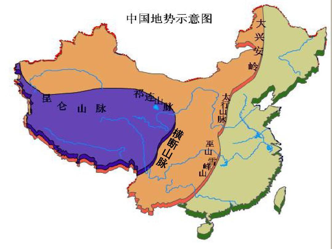 中国地�_中国山川河流分布地图中国河流分布地图中国地图