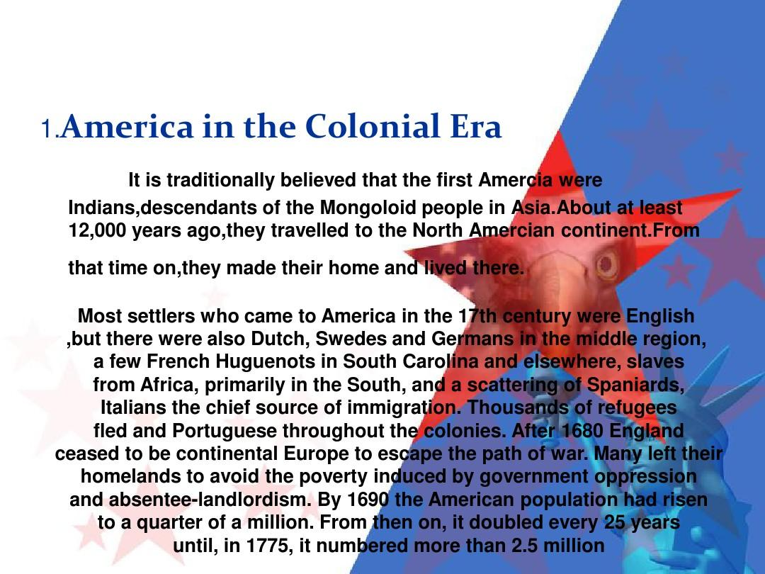 the history of americappt