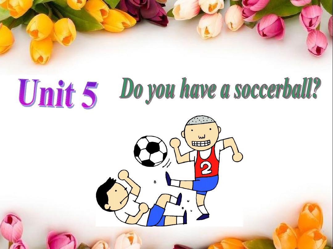 新目标英语七年级上册 unit 5Do you have a socce ball 第一课时 公开课课件