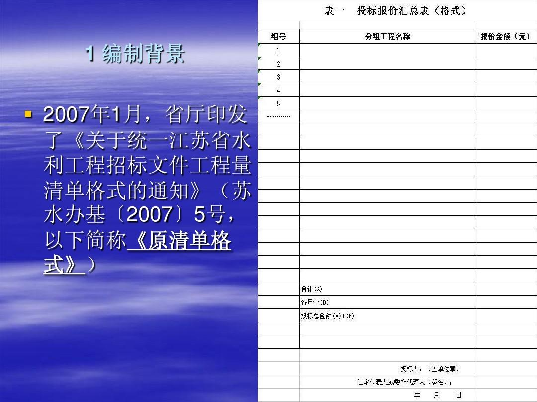 运用《水利工程量清单计价规范》(50501—2007)
