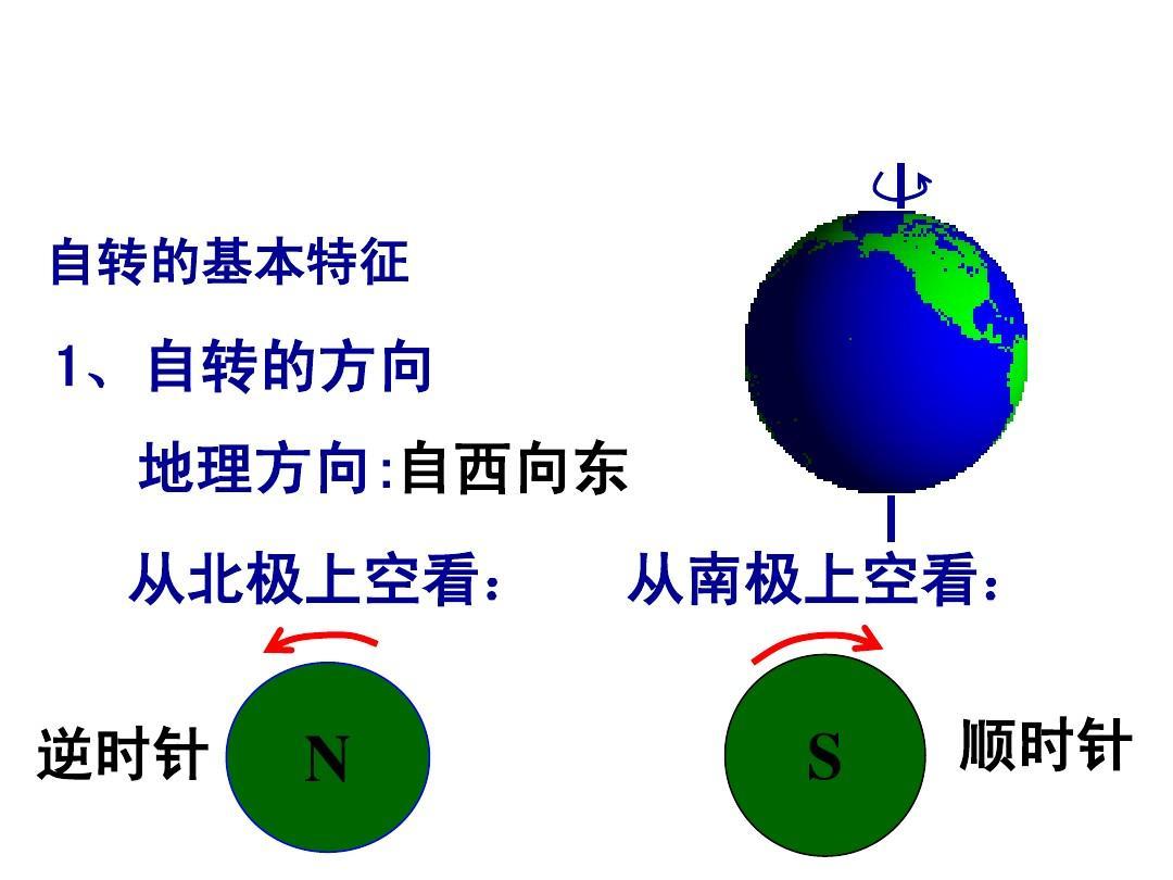 地球自转的地理现象_地球自转的后果和地理意义_地球自转和公转视频