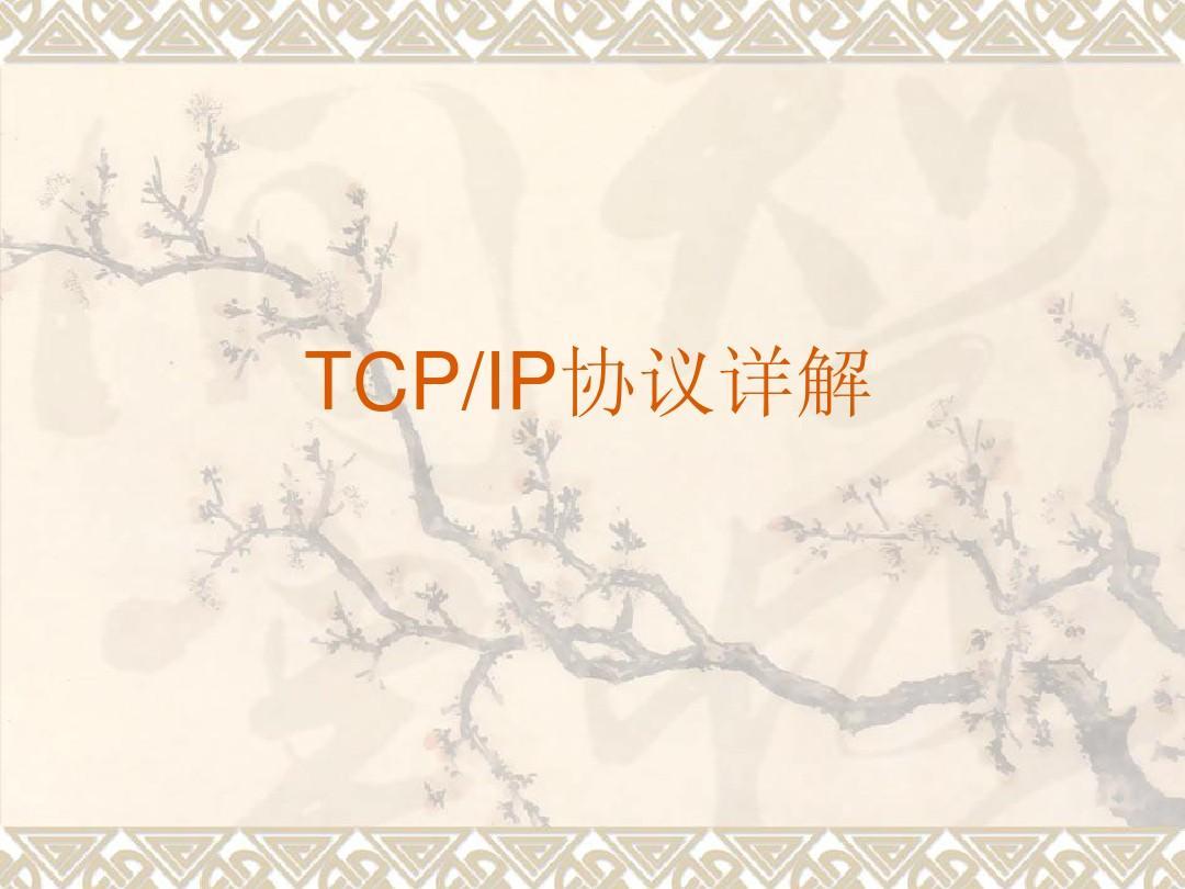 TCP-IP协议详解