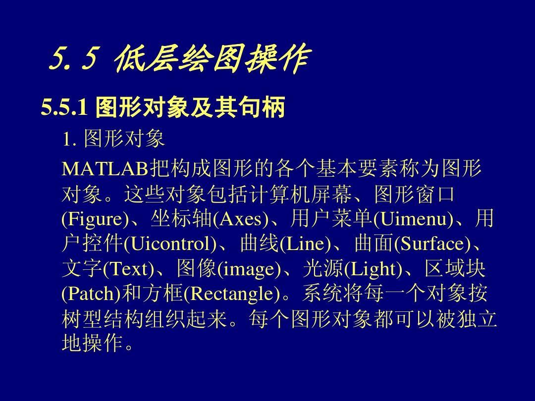 第8章MATLAB短期用户界面v短期哈尔滨平面设计图形班图片