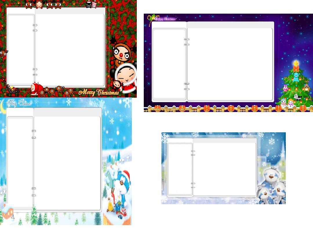 圣诞节的背景图ppt图片