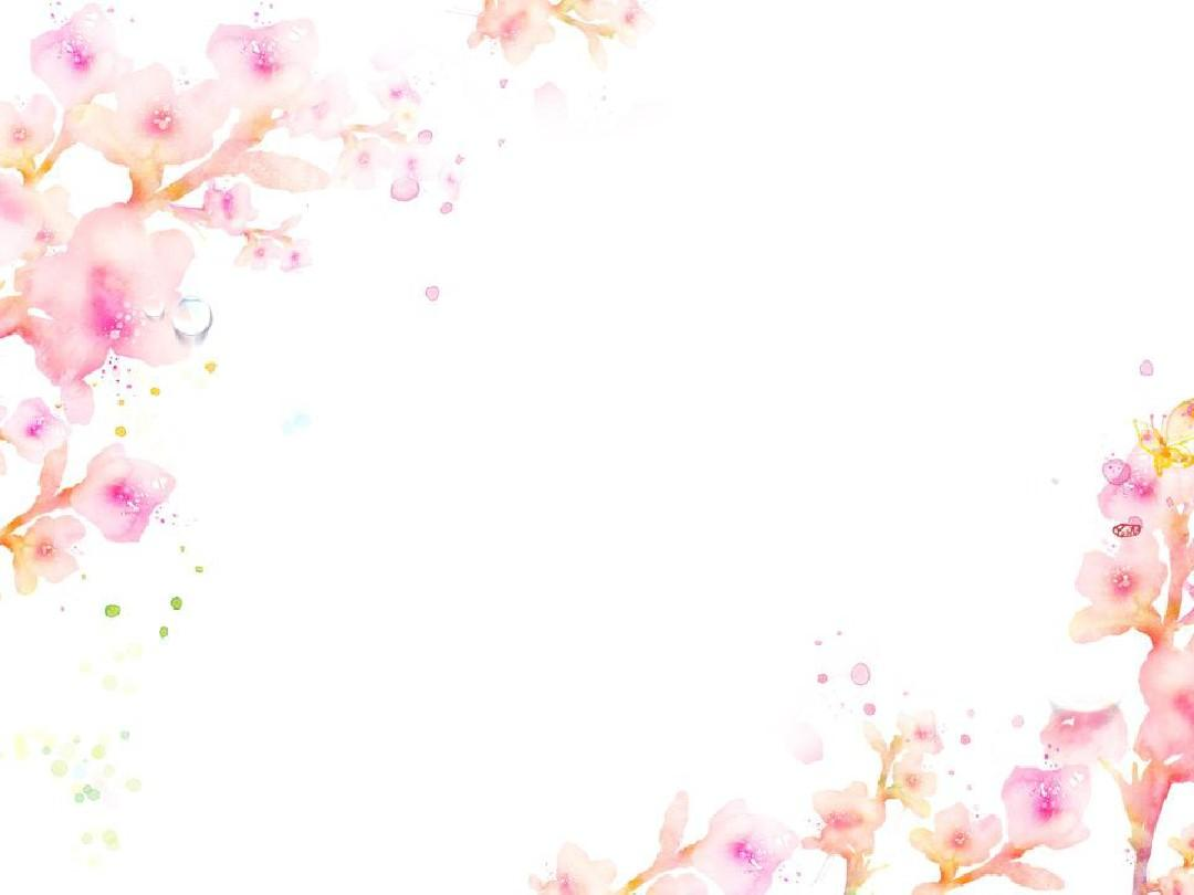 创意涂鸦花朵主题ppt模板图片