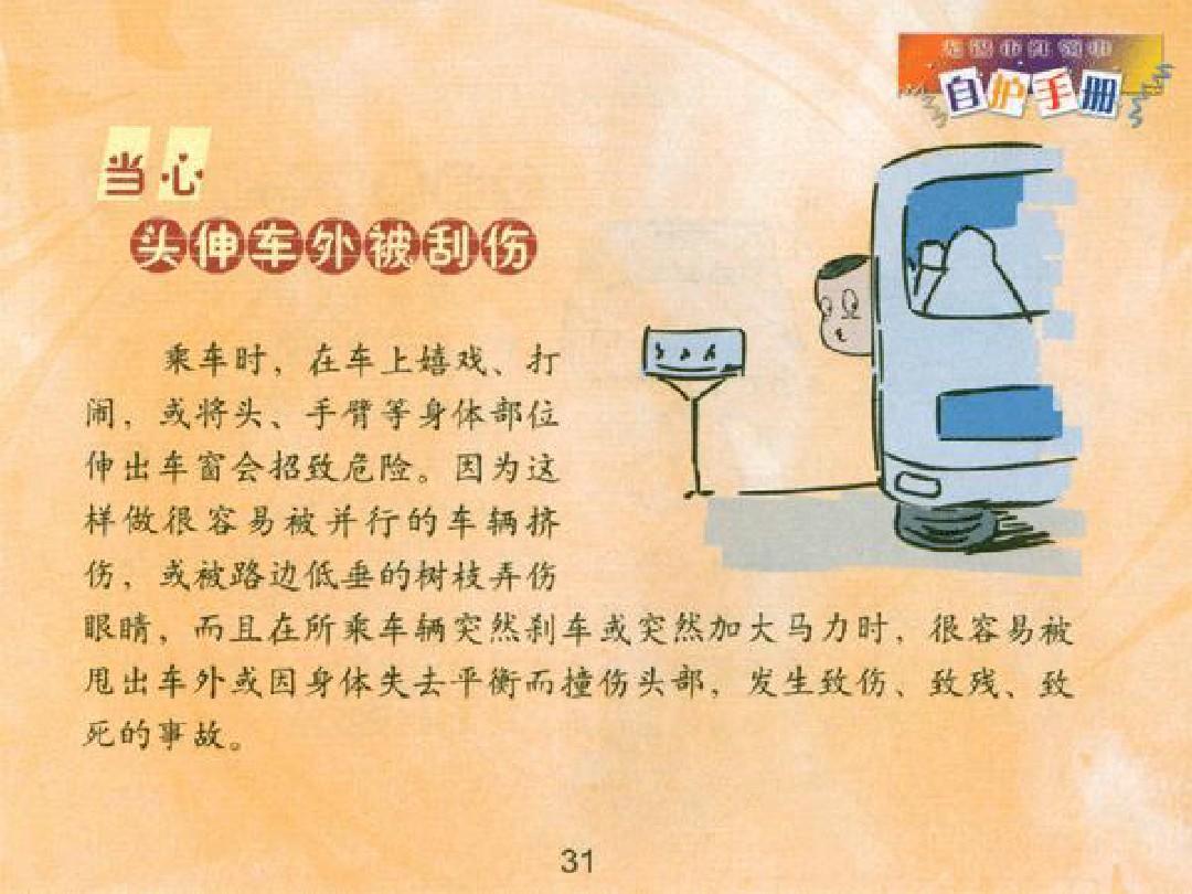 中学生安全教育ppt图片