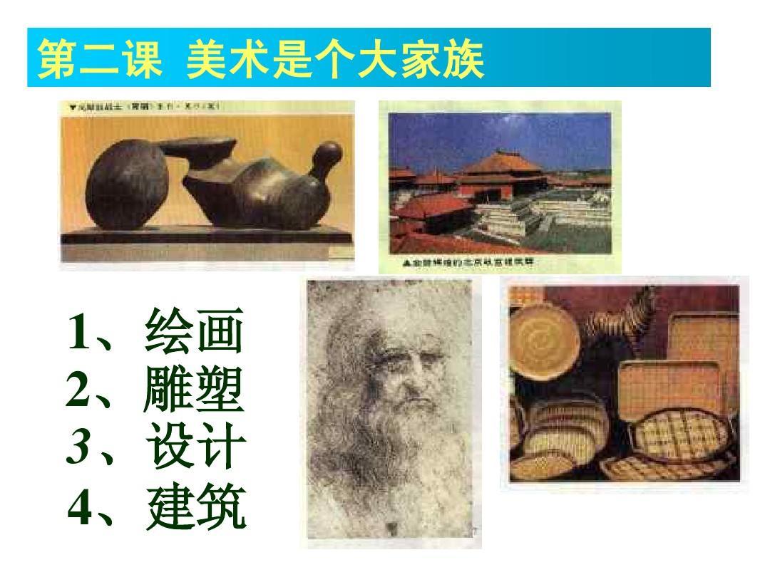 2013最新人教版七年级上册美术课件图片