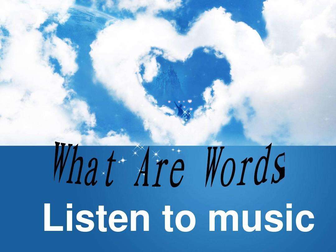letitgo谐音歌词_What Are Words演唱ppt_word文档在线阅读与下载_无忧文档