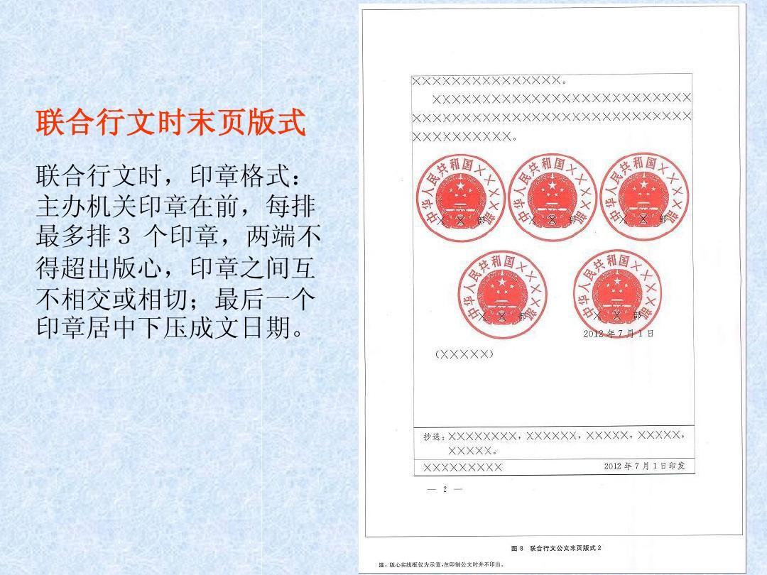 2012年《党政机关公文格式》学习ppt图片