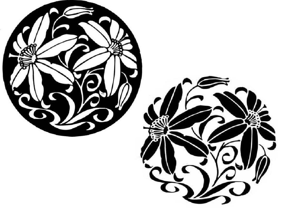 图案的组织形式(适合纹样)ppt图片