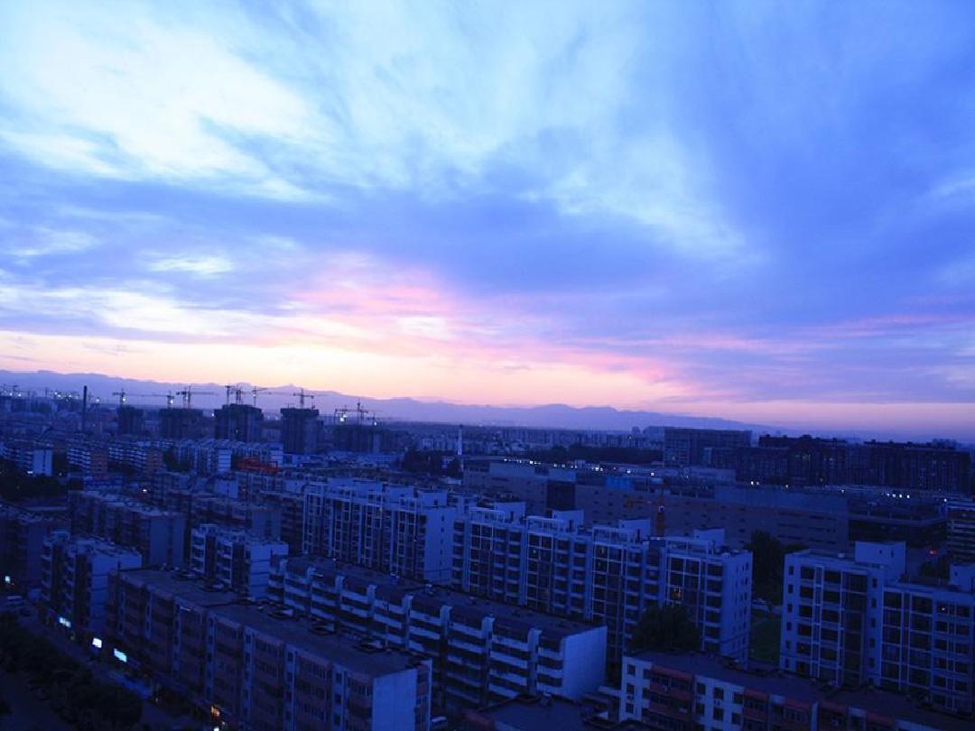 蓝天白云ppt背景29张图片
