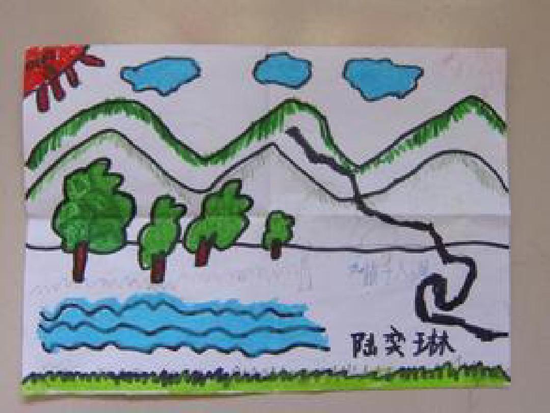 二年级《重重叠叠》图片素材课件(人教新课标二年级美术下册课件)(3)图片