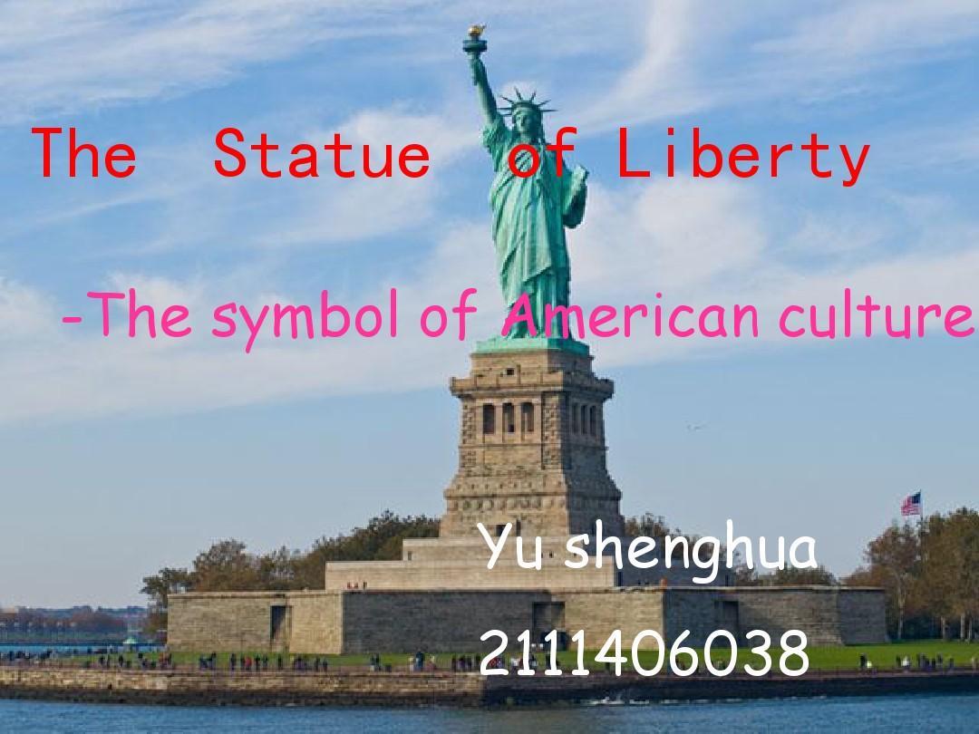 自由女神像the_statue_of_libertyPPT