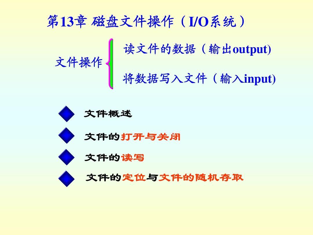 C教程&C++自学视频第十三章文件语言操作oppo刷机磁盘电脑怎么课件教程图片