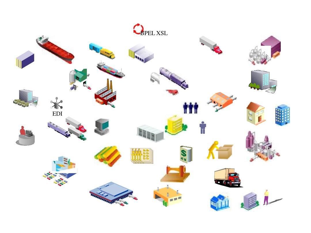 ppt素材-物流常用图标图片