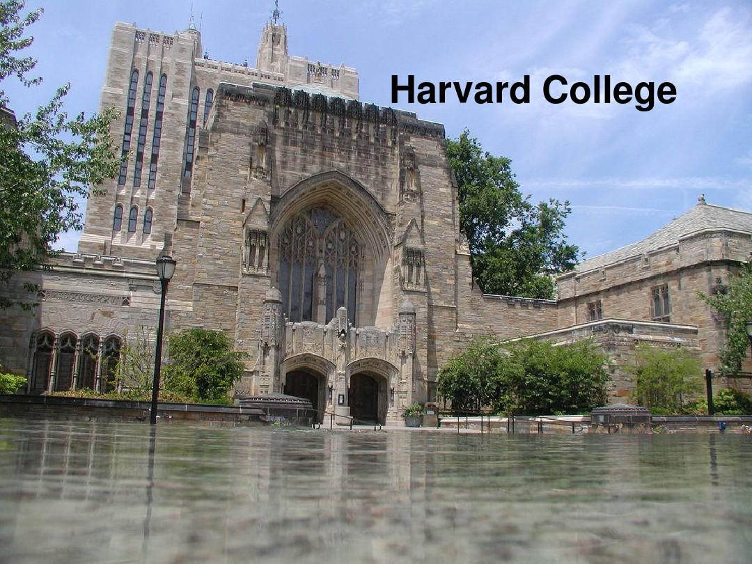 哈佛大学PPT