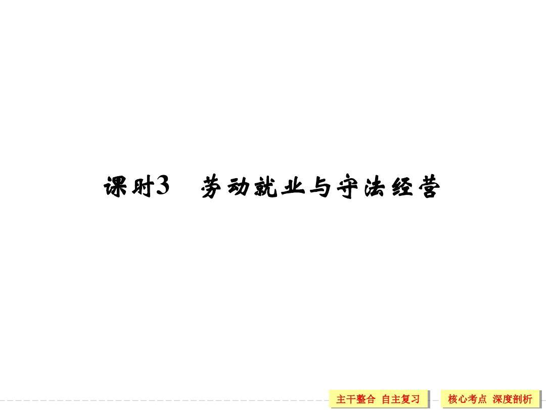 高中思想政治选修五(生活中的法律常识)x5-3教学课件
