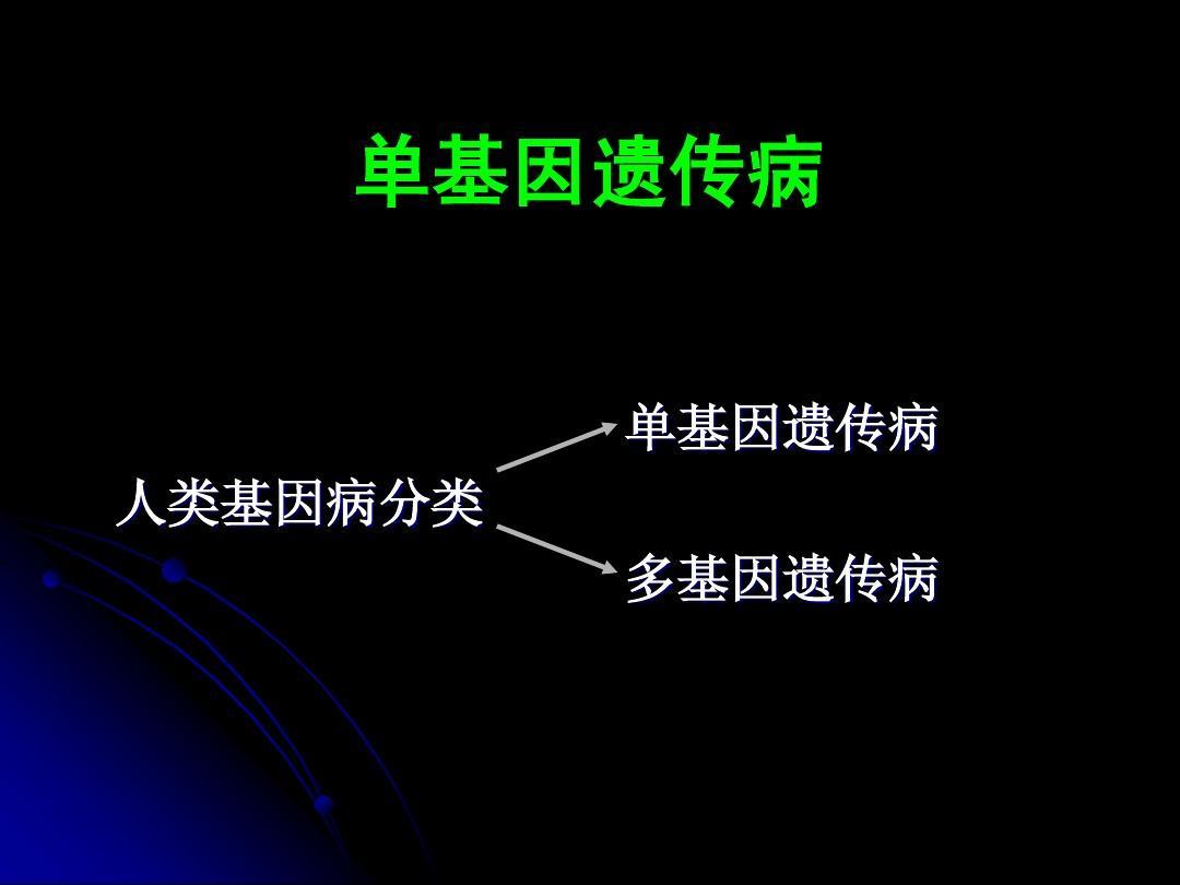 遗传病类型_单基因遗传病_word文档在线阅读与下载_无忧文档
