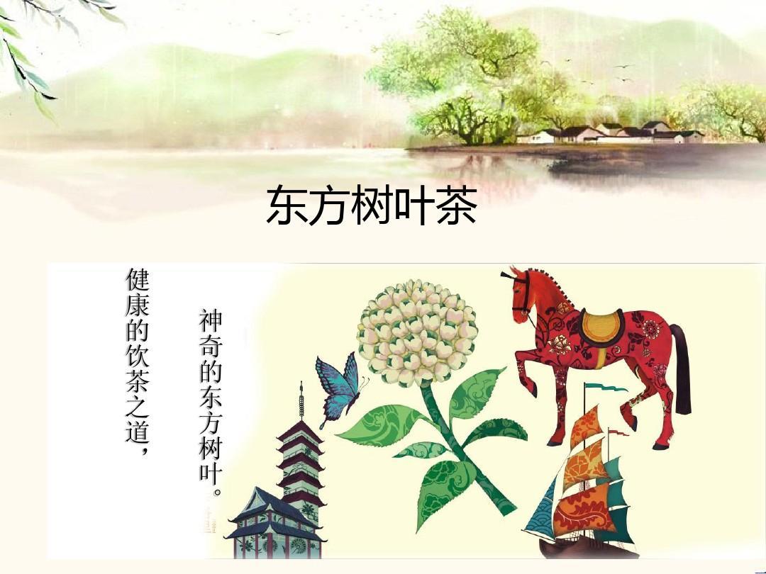 农夫山泉东方树叶茶广告策划ppt图片