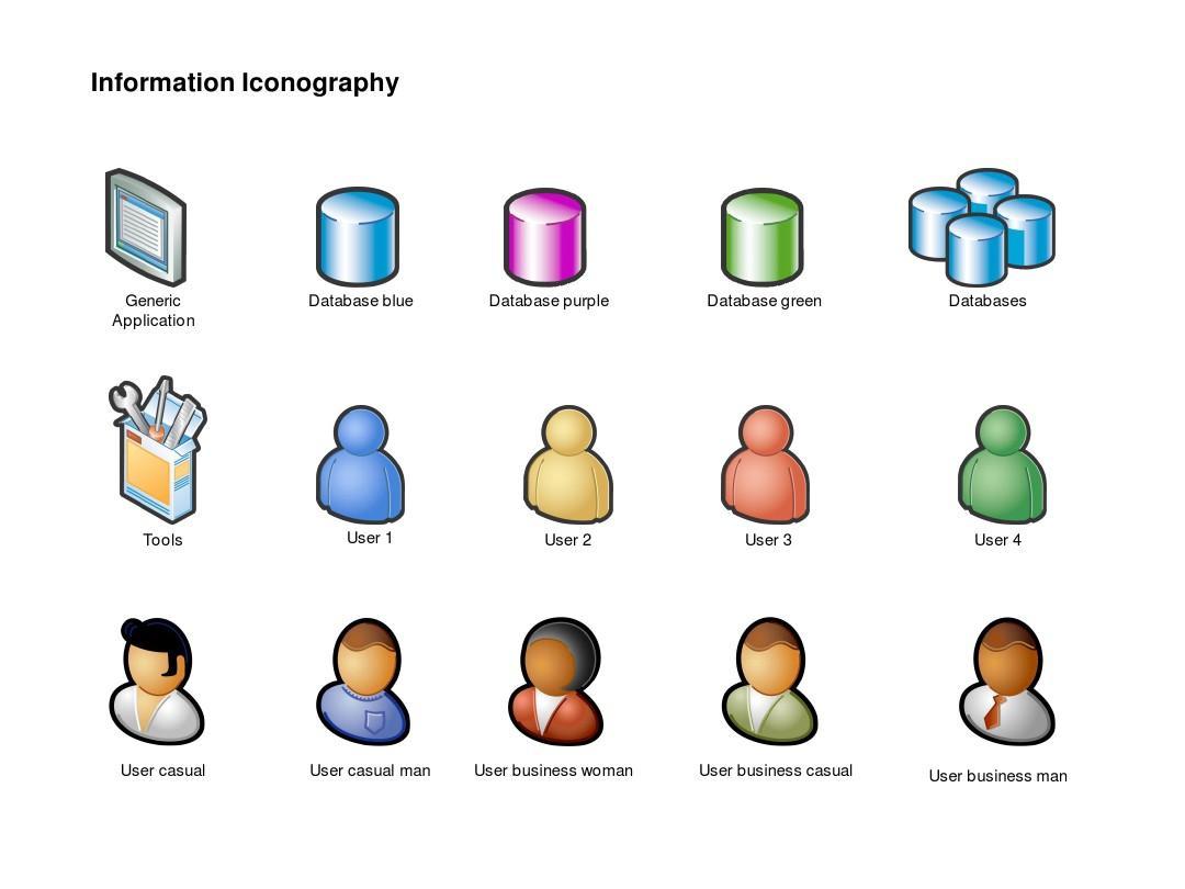 网站和ppt设计常用icon图标图片