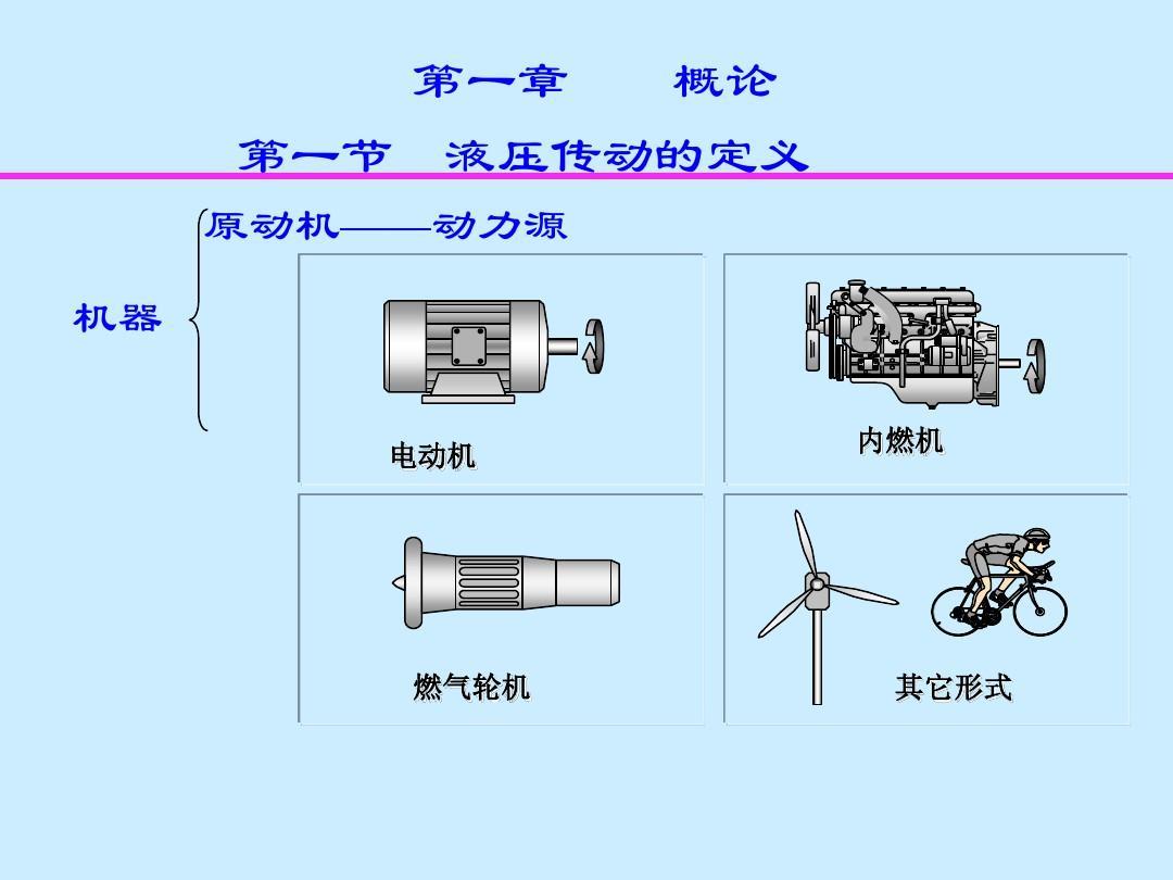 液压系统图解ppt图片