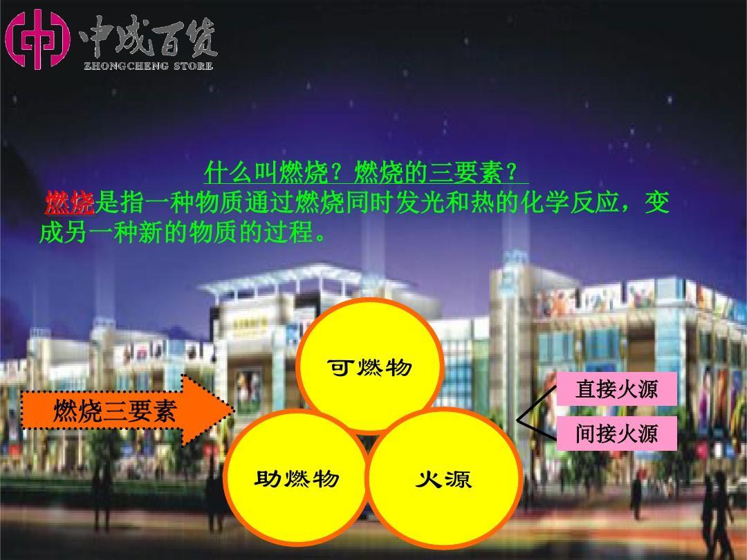 美食广场消防安全培训资料ppt图片