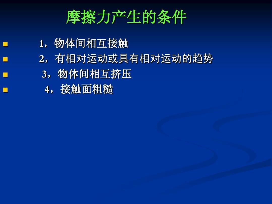 初中九物理課件上_摩擦力年級音樂新課標版ppt人教初中照鏡子教案圖片