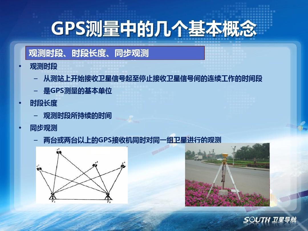 gps静态测量的实施及质量控制ppt图片
