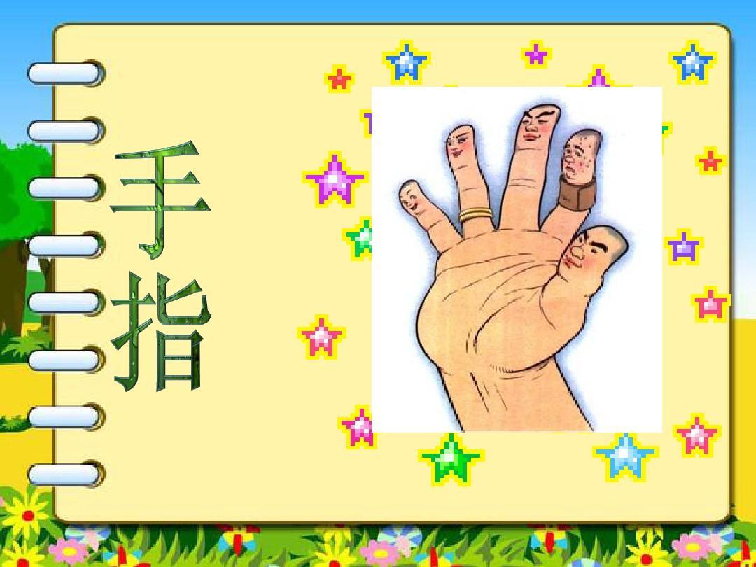 5《手指》(上课)PPT_word文档在线阅读与下载