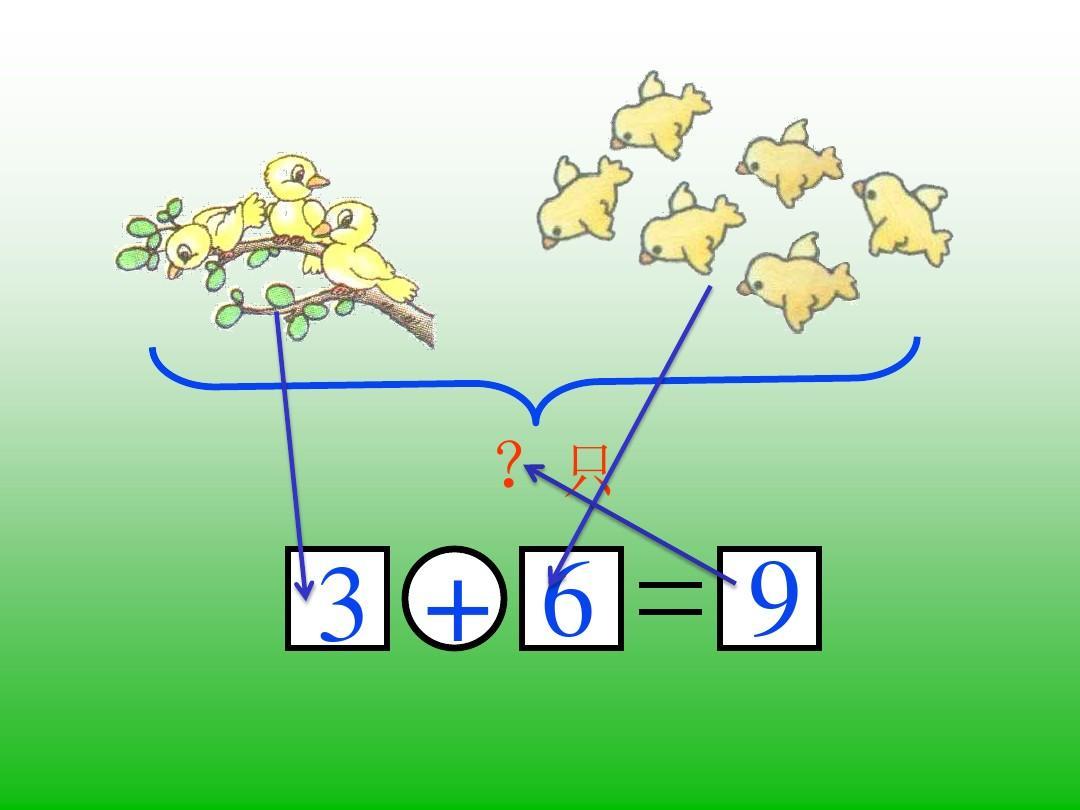 人教版小学一年级数学10以内加减看图列式巩固练习答案ppt图片