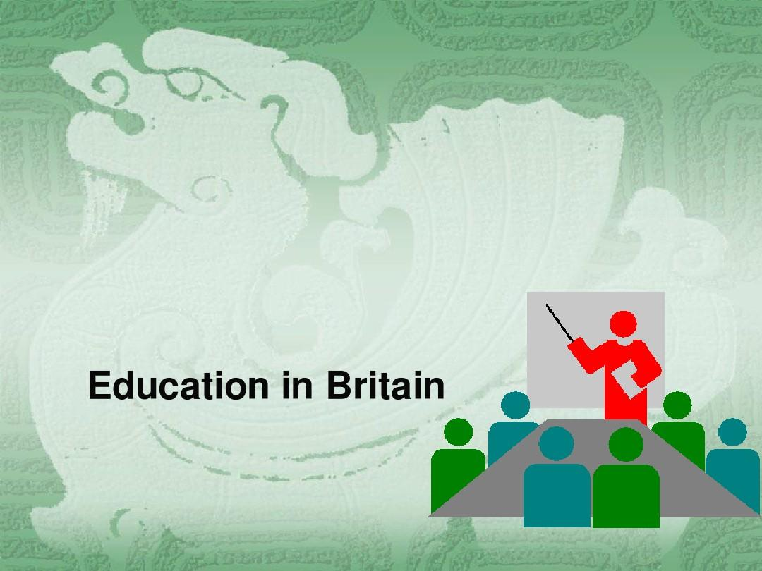 英国教育和英国媒体PPT