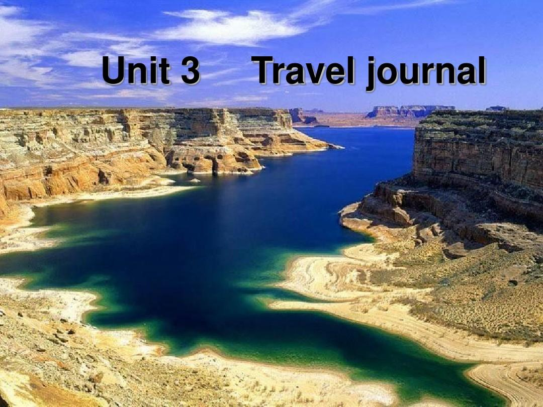 Book 1 Unit 3 Travel Journal