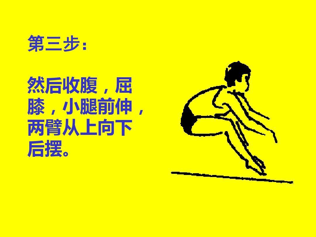 初中體育 《立定跳遠》動作方法及圖解課件ppt圖片