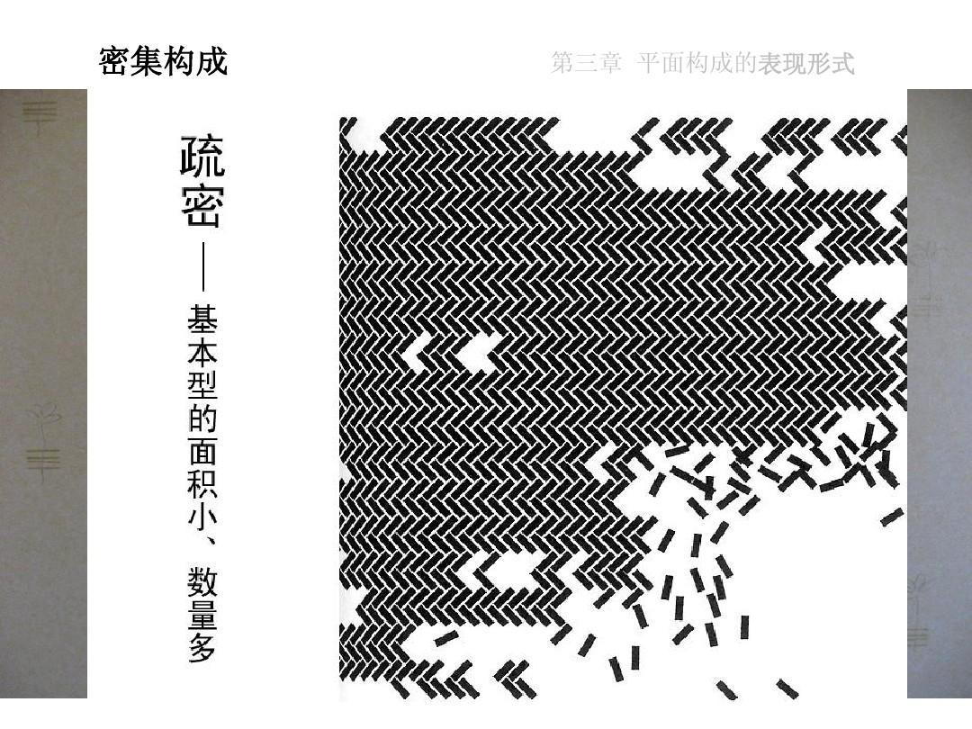 第三章 平面构成的表现形式图片