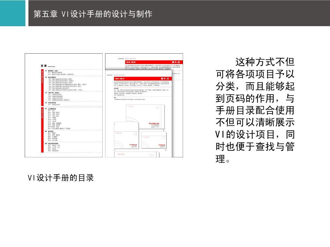 vi设计手册的目录图片