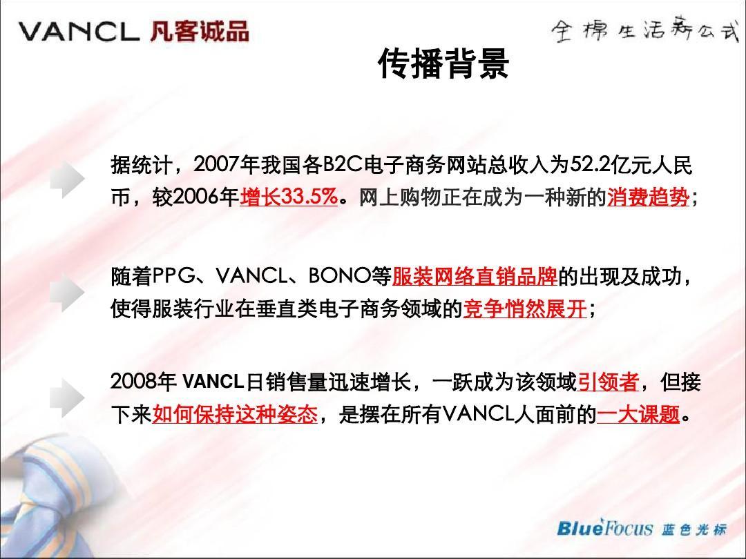 广告案例分析-vancl凡客-蓝色光标新媒体传播公关图片