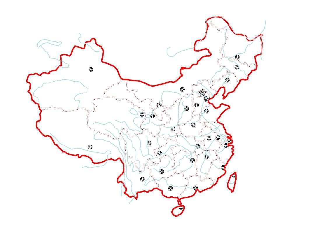 中国地图有几个地区答:1,华东地区(包括山东,江苏,安徽,浙江,福建
