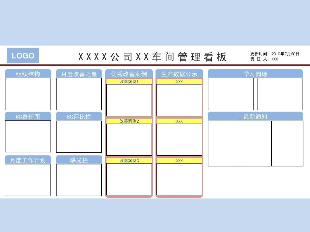 培训通知范文_6S管理看板示例_word文档在线阅读与下载_无忧文档