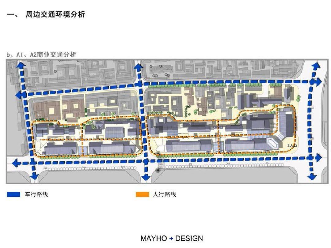 商业街规划设计方案图片