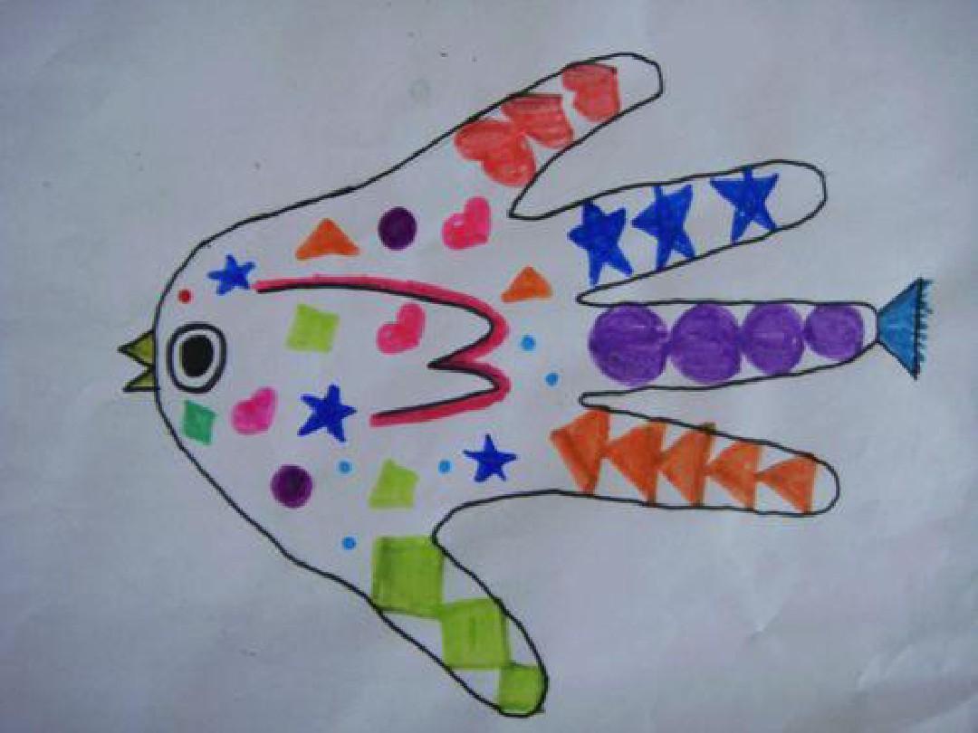 幼儿园手掌就是蟋蟀ppt:中班鸟美术那只课件优秀教案图片